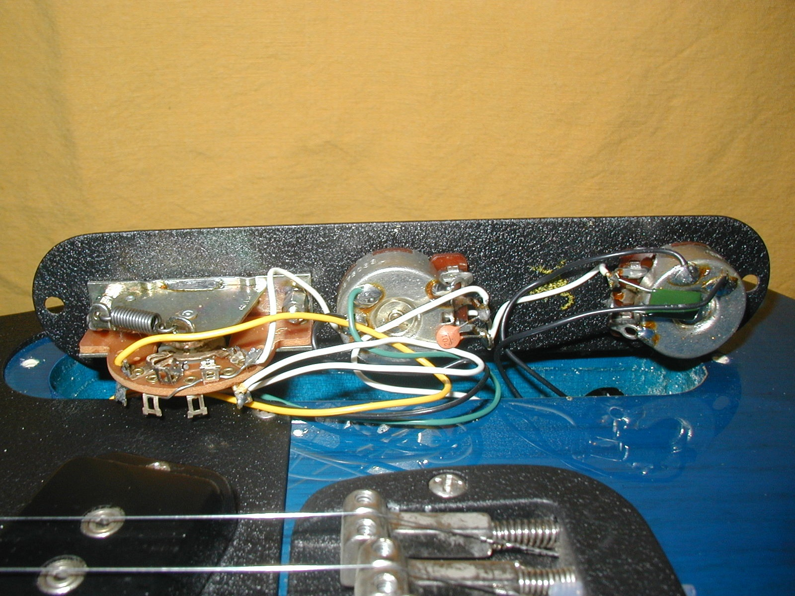 The G&L Discussion Page • View topic - When changed ASAT ... G L Asat Deluxe Wiring Diagram on